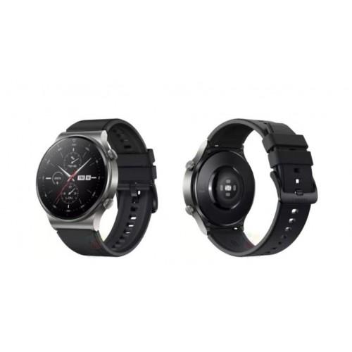 Huawei Watch GT 2 Pro Sport 46mm Silicone Strap Gray (55025792) EU