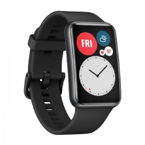 Huawei Watch Fit Silicon Strap Black EU
