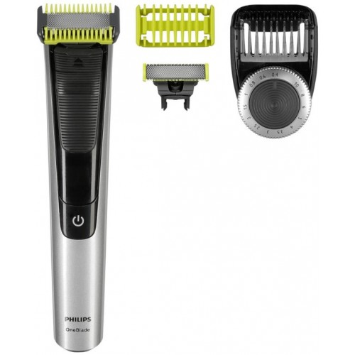 Philips QP6620/20 One Blade Pro Face And Body Silver