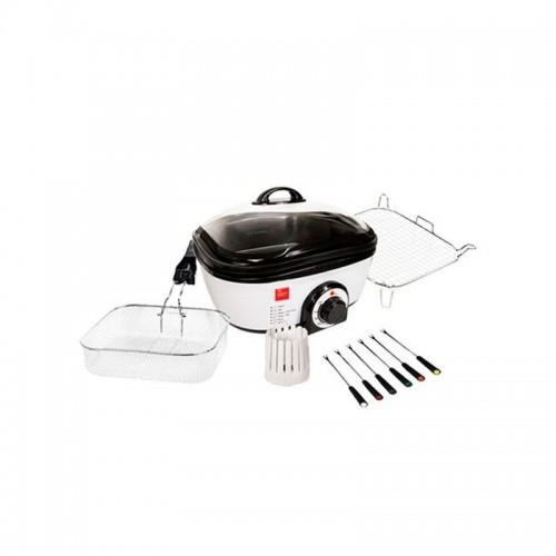 Chef Master Kitchen Επεξεργαστής Τροφίμων Ρομπότ Κουζίνας Quick Cooker  1300W B1550108