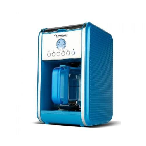 Καφετιέρα Φίλτρου Espresso TurboTronic 900Watt 1.8L TT-CM12 Blue