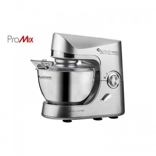 Κουζινομηχανή Μίξερ Turbotronic 1500Watt TT-002 Silver